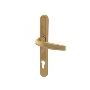 Hoppe Atlanta handles 92mm centres (Polished Gold Chrome – 1 pair)